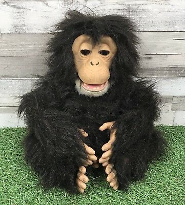 Fur Real Furreal Friends Cuddle Chimp Chimpanzee Monkey 2007 Hasbro *Faulty*