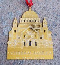"Boston /""Swan Boat/"" Metal Wreath Ornament NIB R$14.99 SVCO106 Cathedral Art"