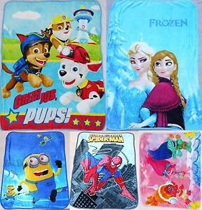 Wholesale Kids Paw Patrol Trolls Fur Fleece Blanket Polar Throw Kenthurst The Hills District Preview