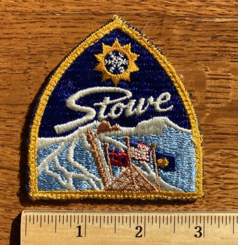 Vintage Ski Patch ~ Stowe Vermont