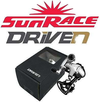 SunRace Driven RX2 10 Speed Short Cage Rear Derailleur fits Shimano 11-28t Road for sale  Shipping to India