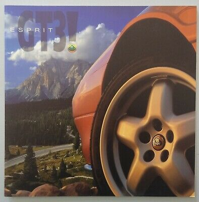 V18508 LOTUS ESPRIT GT3 - CATALOGUE - NON DATE - 21x21 - GB