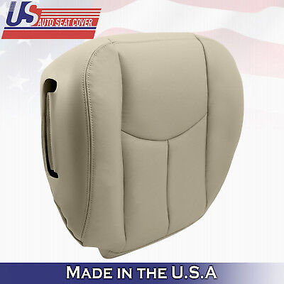 2003 2004 2005 to 2006 Chevy Tahoe Driver Bottom-Seat Cover Light Tan 522