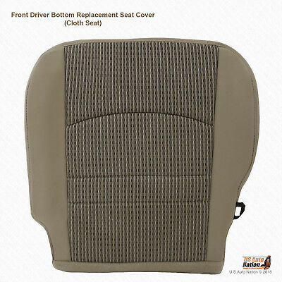 2009 2010 2011 2012 Dodge Ram 1500 SLT Front Driver Tan Cloth Replacement Cover