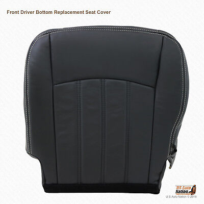 2010 2011 2012 Dodge Ram 3500 Laramie Driver Bottom Replacement Leather Cover