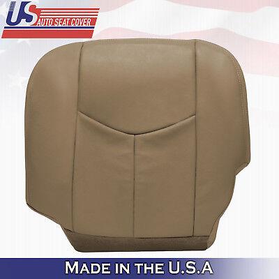 2003 2004 Chevy Silverado truck Driver Bottom Leather Seat Custom Tan Custom Chevy Truck Seats