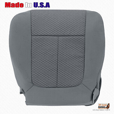 2011 - 2014 Ford F150 Driver Side Bottom Replacement Cloth Seat Cover STEEL GRAY Ford F150 Seat