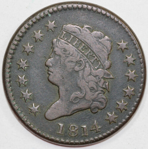 1814 1c Classic Head Large Cent