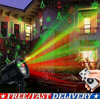 Christmas Lights Projector LED Laser Outdoor Landscape Xmas Move Lamp Xmas Gifts