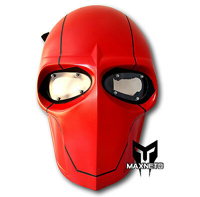 MAXNETO Airsoft Army of Two Paintball BB Gun Game Protective Gear Mask Red Hood