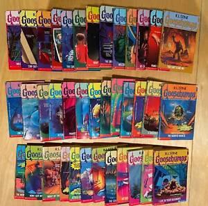 Original Goosebumps book series - 38 (of 62) book bundle