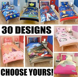 100-Official-Kids-Duvet-Quilt-Cover-Pillowcase-Sets-New-Designs-Characters