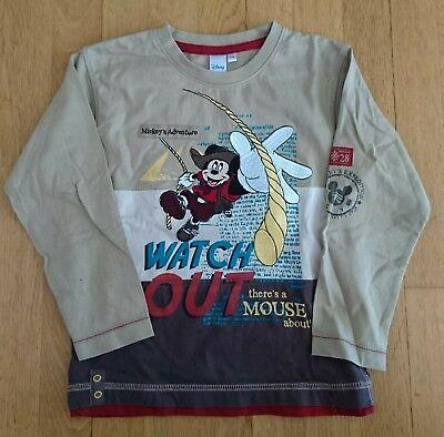 Mickey Maus LA-Shirt Gr. 116 C&A
