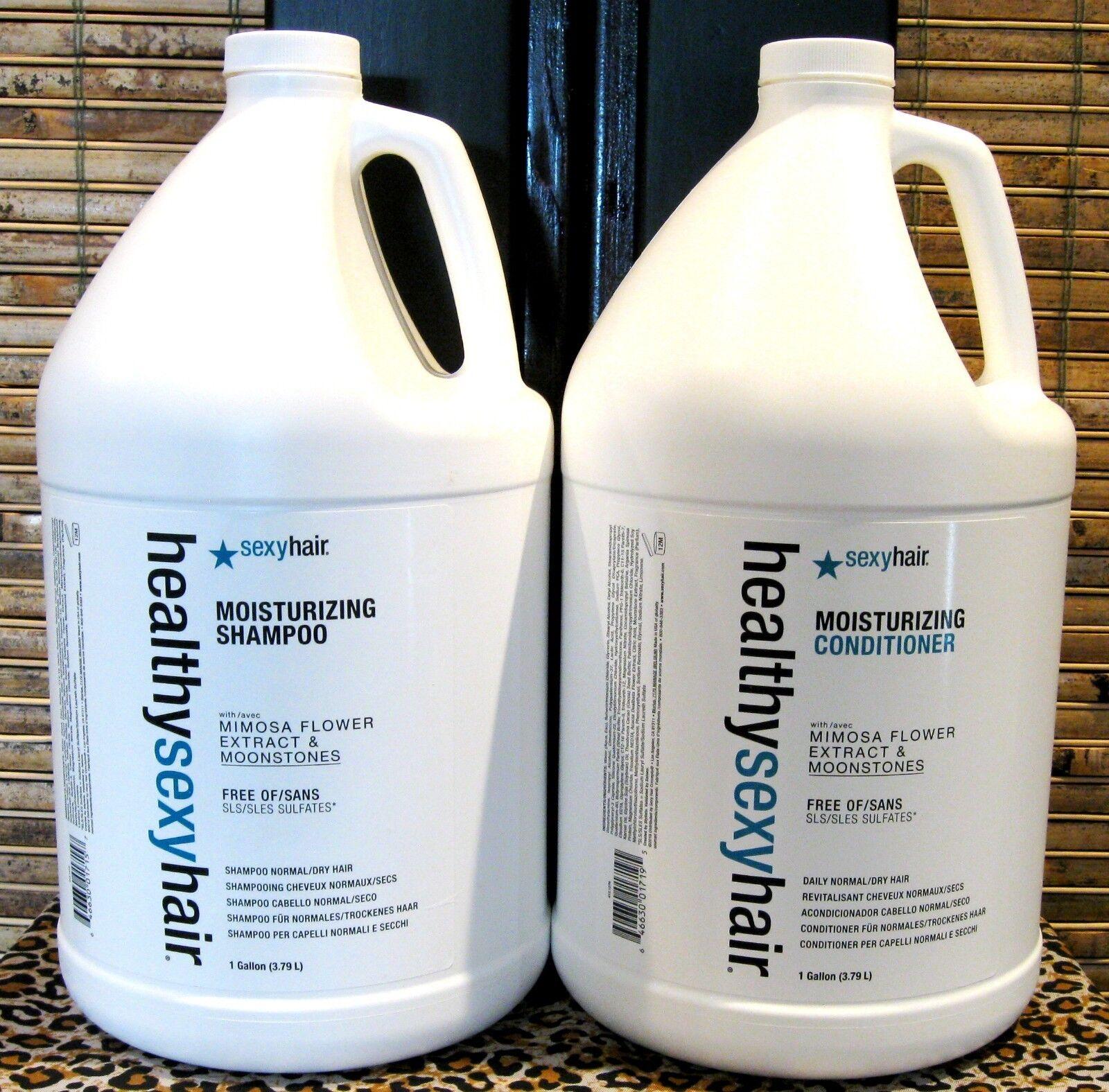 Healthy Sexy Hair Moisturizing Shampoo & Conditioner Gallon Set Duo 128 oz