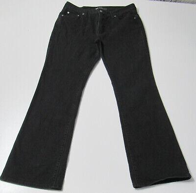 Women's Levi's 515 Boot Cut Stretch Black Jeans Size 12 31x32 : 3772
