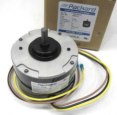 Packard Condenser Fan Motor 43405 For Carrier Hc33ge208 16hp 1500 Rpm 208-230 V