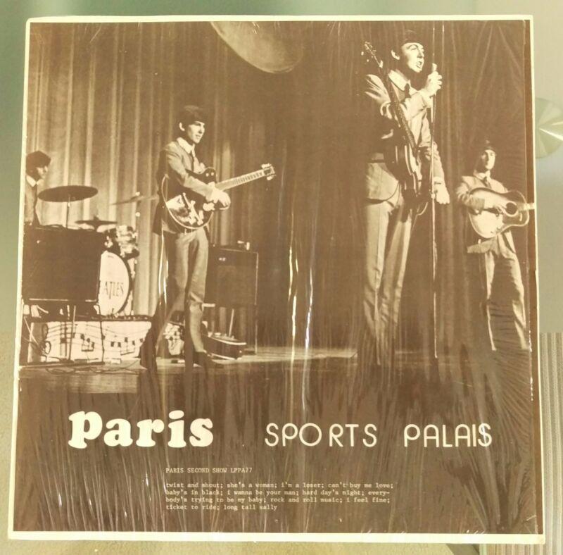 The Beatles ~ Paris Sports Palais  ~ CBM Records LPPA77 ~ NM ~ Very Rare Label