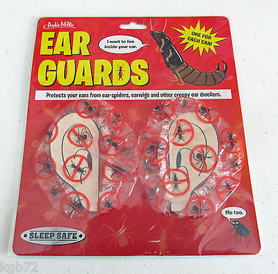 Sleep Safe Ear Guards ~ Insect Ear Protection Great Novelty Gag Gift OCD McPhee](Good Gag Gifts)