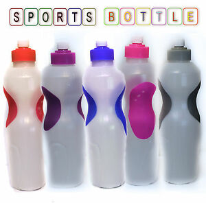 700ml SPORTS WATER BOTTLE SUPER GRIP CYCLING HIKING CAMPING RUNNING GYM OUTDOOR
