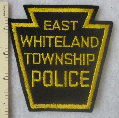 EAST WHITELAND TOWNSHIP PENNSYLVANIA POLICE PATCH OLDER Vintage ORIGINAL
