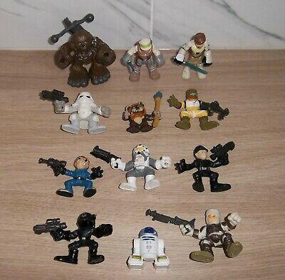 STAR WARS - Selection Of Galactic Heroes Figures (Hasbro).