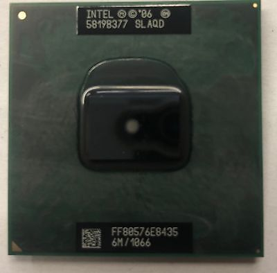 Intel Core 2 Duo E8435 Laptop CPU Processor- SLAQD for sale  Shipping to India