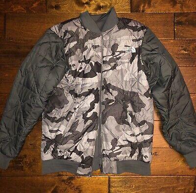 The North Face Reversible Jacket Mens Medium Camo