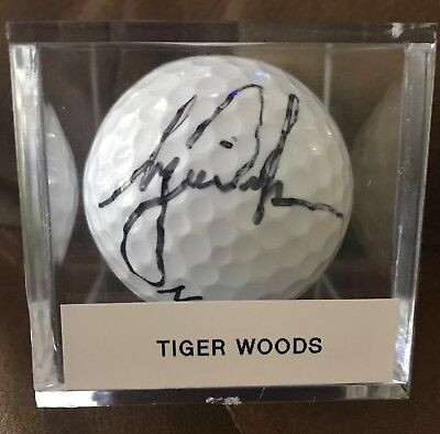 9fe36c9790d Balls - Tiger Woods Signed Golf Ball - Trainers4Me