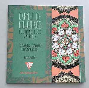 Mandala Coloring Book Clairefontaine Malbuch For Adult Art