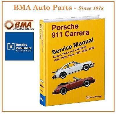 NEW Porsche 911 Non Turbo Bentley Service Repair Manual 84-89 - # PR8009100 P989