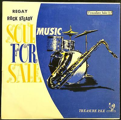 Various Ska Rock Steady Soul Music For Sale LP VG+ 101/5 Treasure Isle 1967 Rare