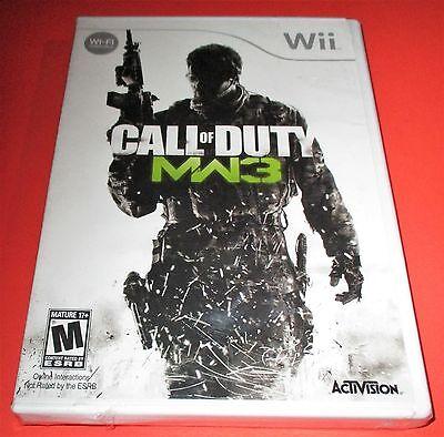 Call of Duty: Modern Warfare 3 Nintendo Wii *Factory Sealed! *Free Shipping! comprar usado  Enviando para Brazil