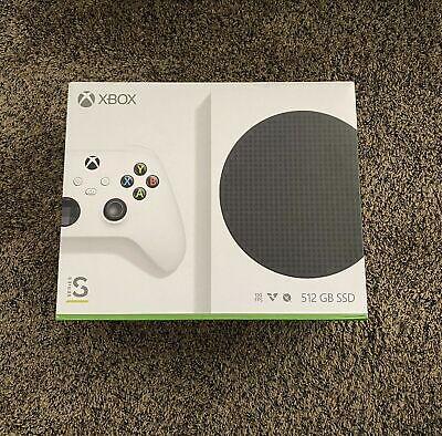 Microsoft Xbox Series S 512GB Video Game Console - BRAND NEW IN BOX, White
