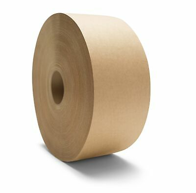 Gummed Paper Tape 3 X 600 Non Reinforced Water Activated Brown Tapes 20 Rolls