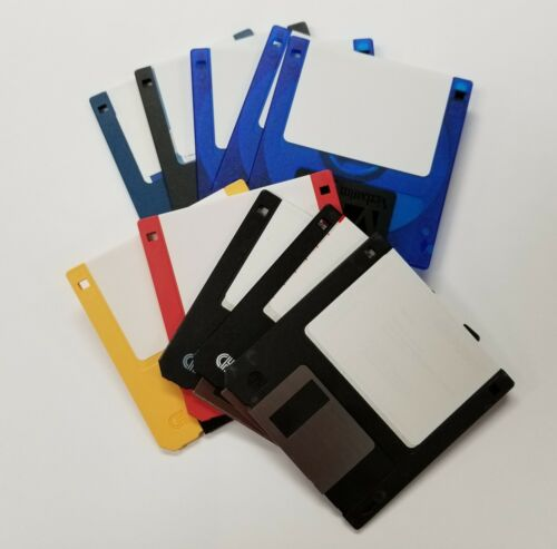 """3.5"""" Floppy Disks 1.44 MB DS/HD Recycled.   Pack of 5 Floppy Diskettes."""
