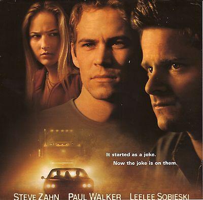 """""""Joy Ride""""--2000 Film Advertisement--Paul Walker/Steve Zahn/Leelee Sobieski"""