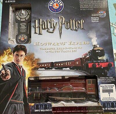 Lionel 6-83620 Harry Potter Hogwarts Express O-Gauge Electric Train Set
