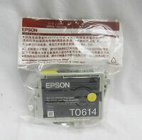 Genuine Epson T0614 Yellow Printer Cartridge - Bnib - epson - ebay.co.uk