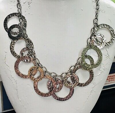 """60s -70s Jewelry – Necklaces, Earrings, Rings, Bracelets RARE VINTAGE 1960S  STERLING Handmade 18"""" HEAVY  55.8G NECKLACE $80.00 AT vintagedancer.com"""
