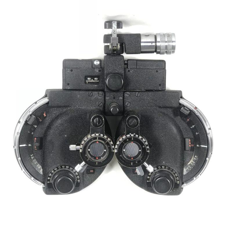 American Optical Vintage Phoroptor Spencer Lens Company Manual Refractor 590MC