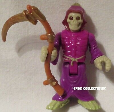 Imaginext Blind Bag Series 9 loose figure GRIM REAPER with SCYTHE Skeleton death