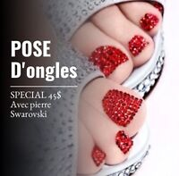 Pose d'ongles, nails