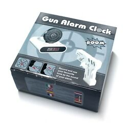 New Gun Alarm Clock Target LCD Screen Novelty Shooting Gift