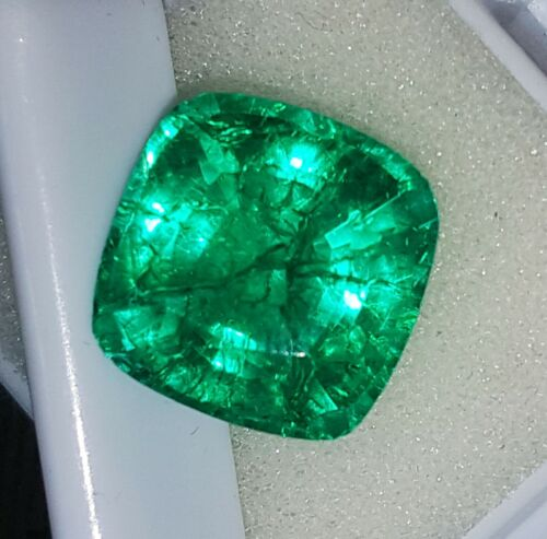 9.05 Ct Loose Gemstone Certified Natural Emerald With Free Shipping