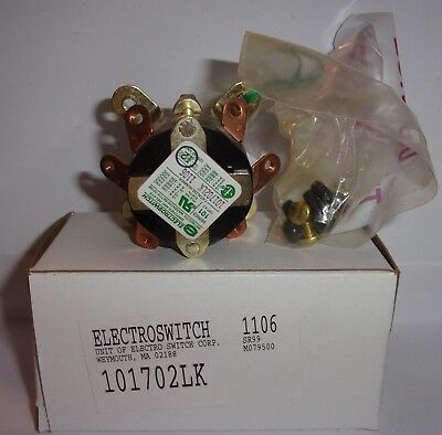 Electroswitch 101702lk Series 101 120-240 500 Vac 125-250 Vdc New In Box