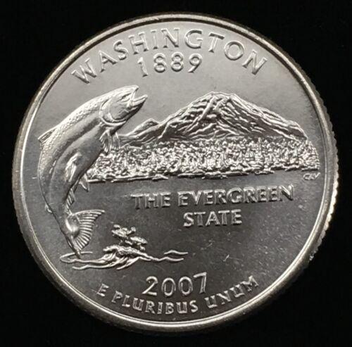 2007 D MINT Washington State Quarter :: Uncirculated :: WA :: Shipping Discount!