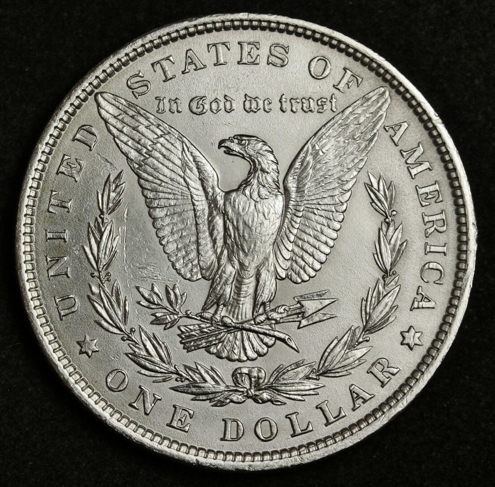 1881 Morgan Silver Dollar. B.U. 139804 - $39.00