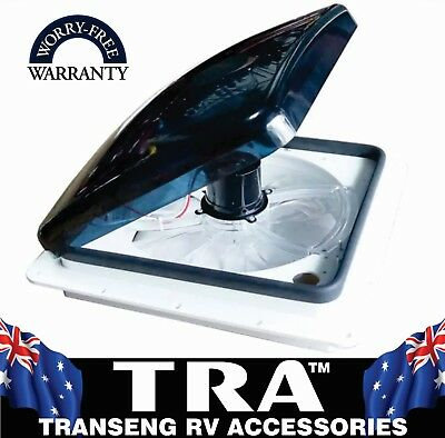 TRA 12V ELECTRIC RAIN SENSING CARAVAN RV ROOF HATCH VENT MOTOR HOME JAYCO PARTS