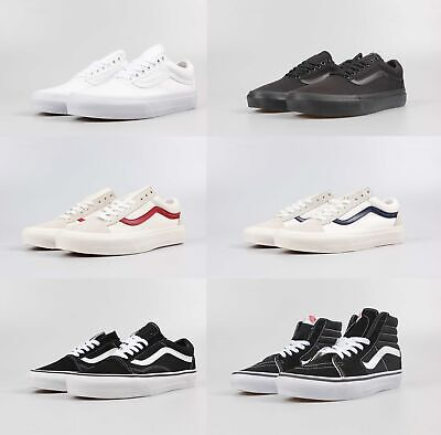 VANS Old Skool  checkerboard men and women couples canvas shoes