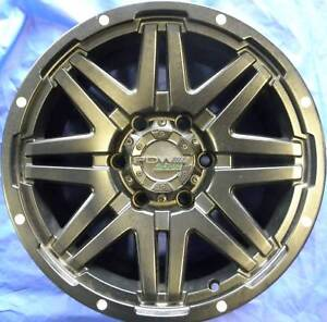 SET OF FOUR (4) PDW 17x9 6/139.7 et25 RAMPAGE Centennial Park Albany Area Preview